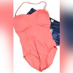 NWT Tommy Bahama Pearl Solids One Piece Swimsuit